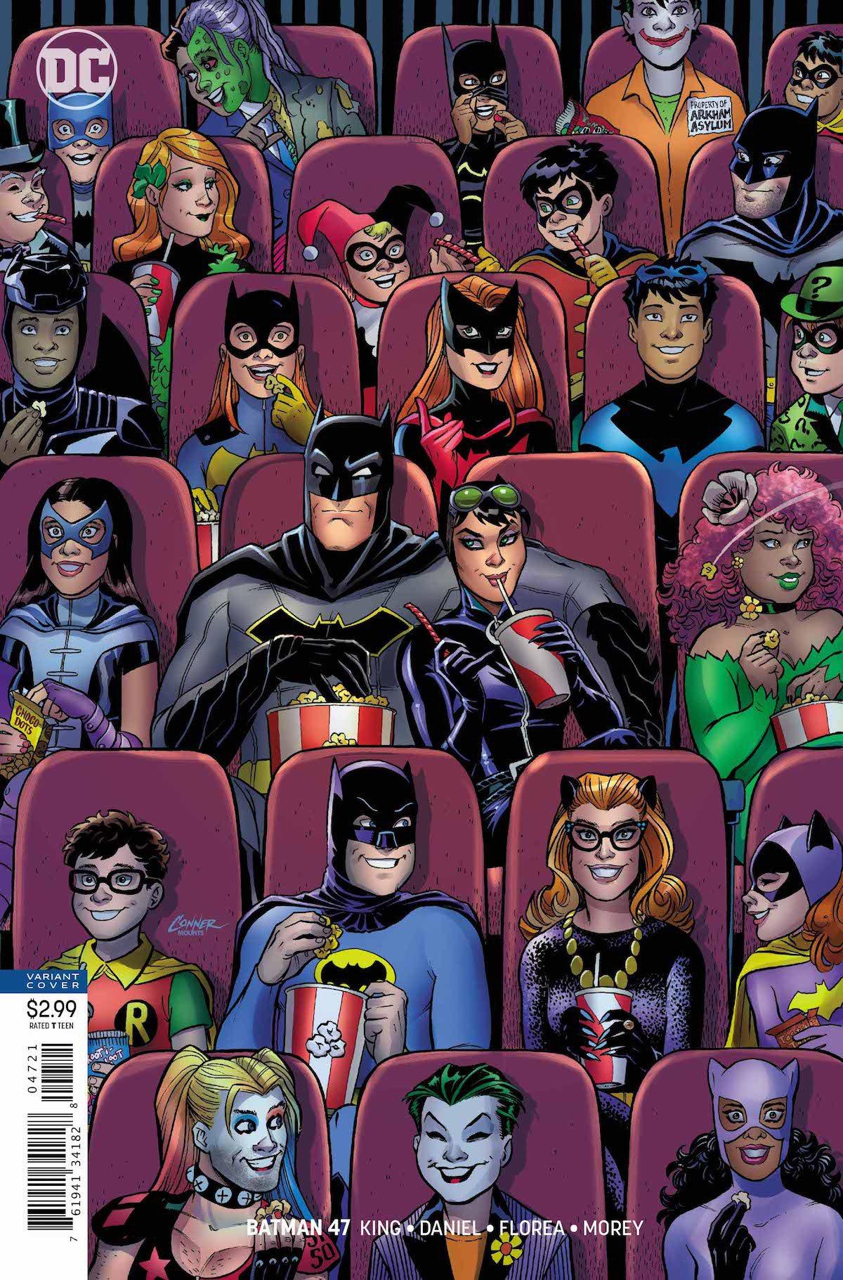 Batman #47 Amanda Conner cover