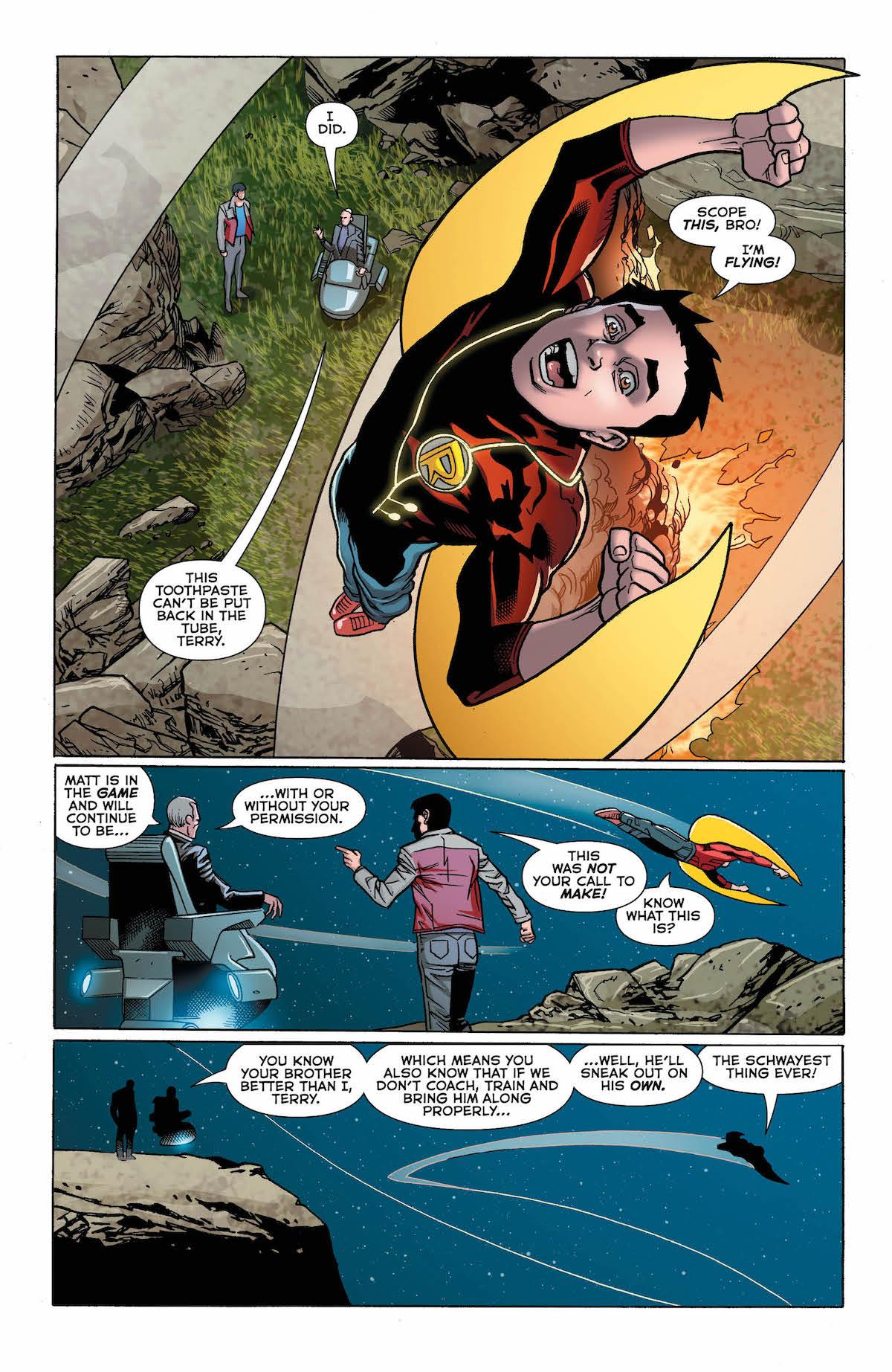 Batman Beyond #20 page 5