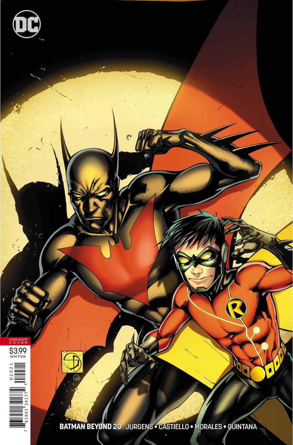 Batman Beyond #20 variant cover