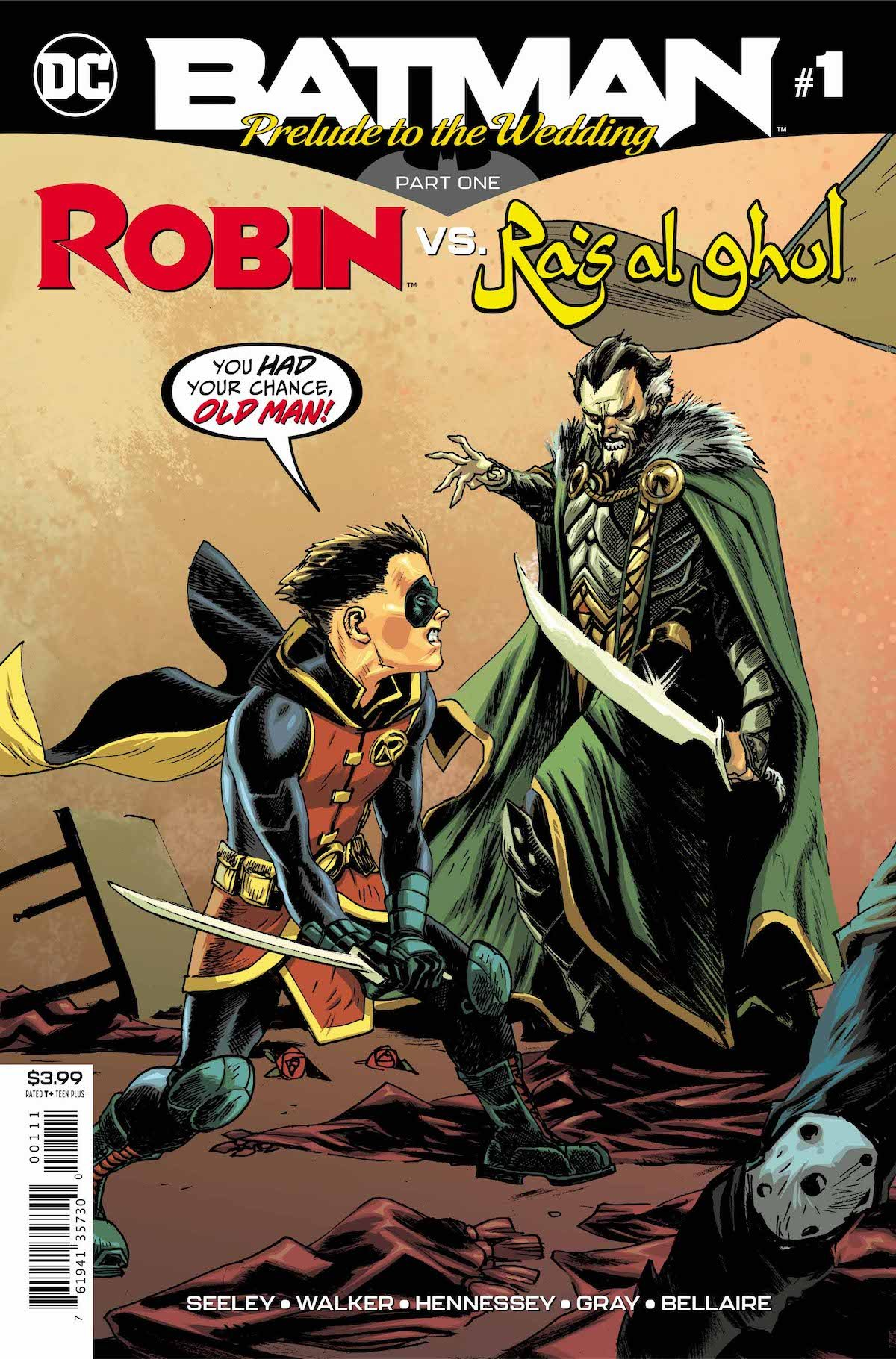 Batman Prelude to the Wedding Robin Ra's Al Ghul #1 cover