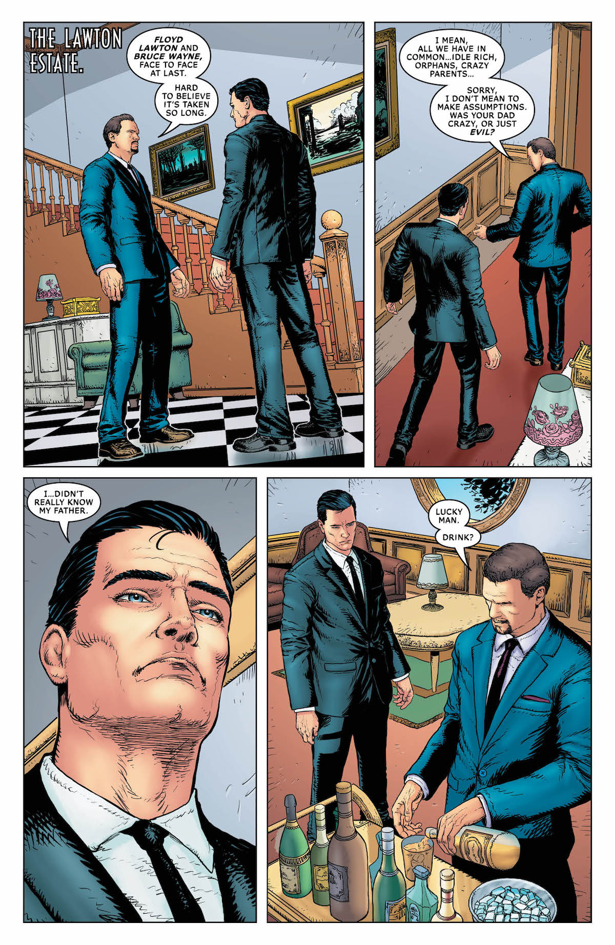 Batman: Sins of the Father #4 page 1
