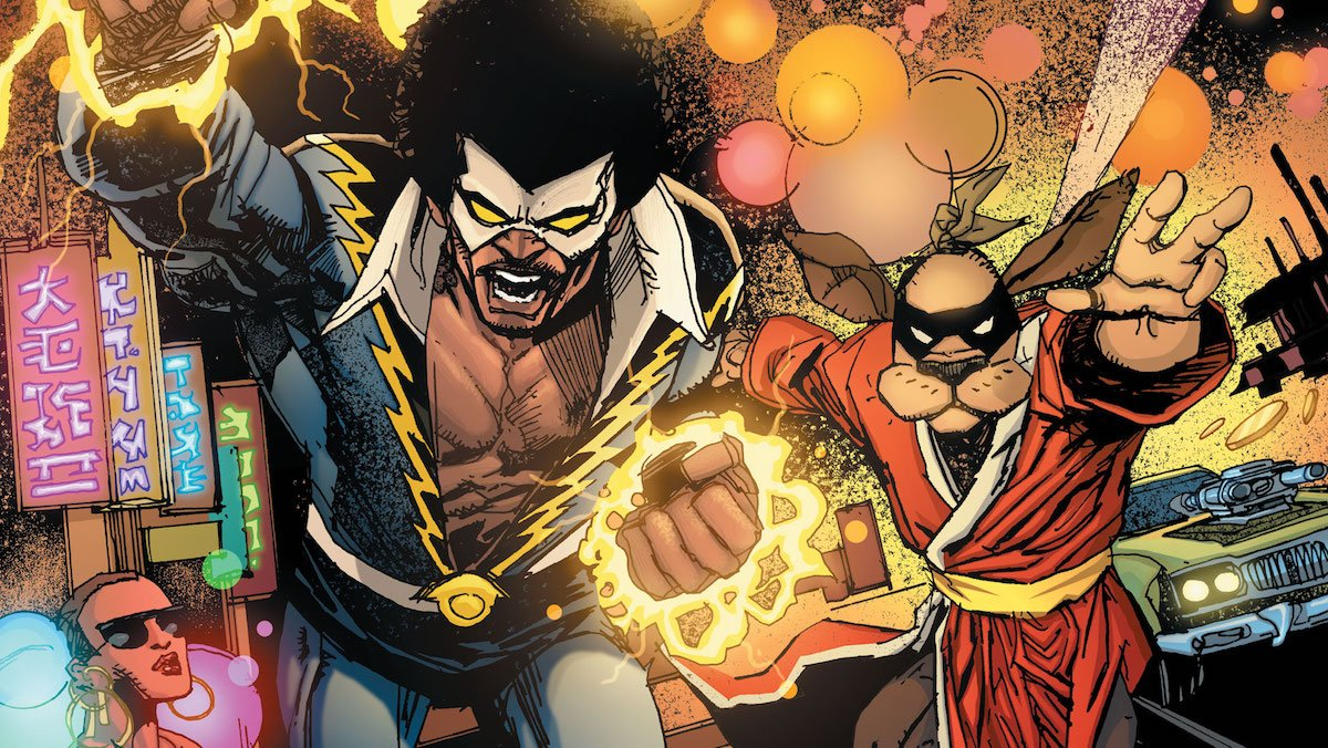 Black Lightning/Hong Kong Phooey Special #1 cover