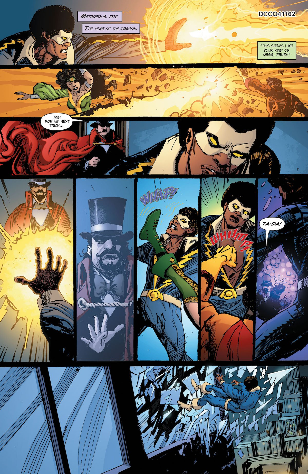 Black Lightning/Hong Kong Phooey Special #1 page 1