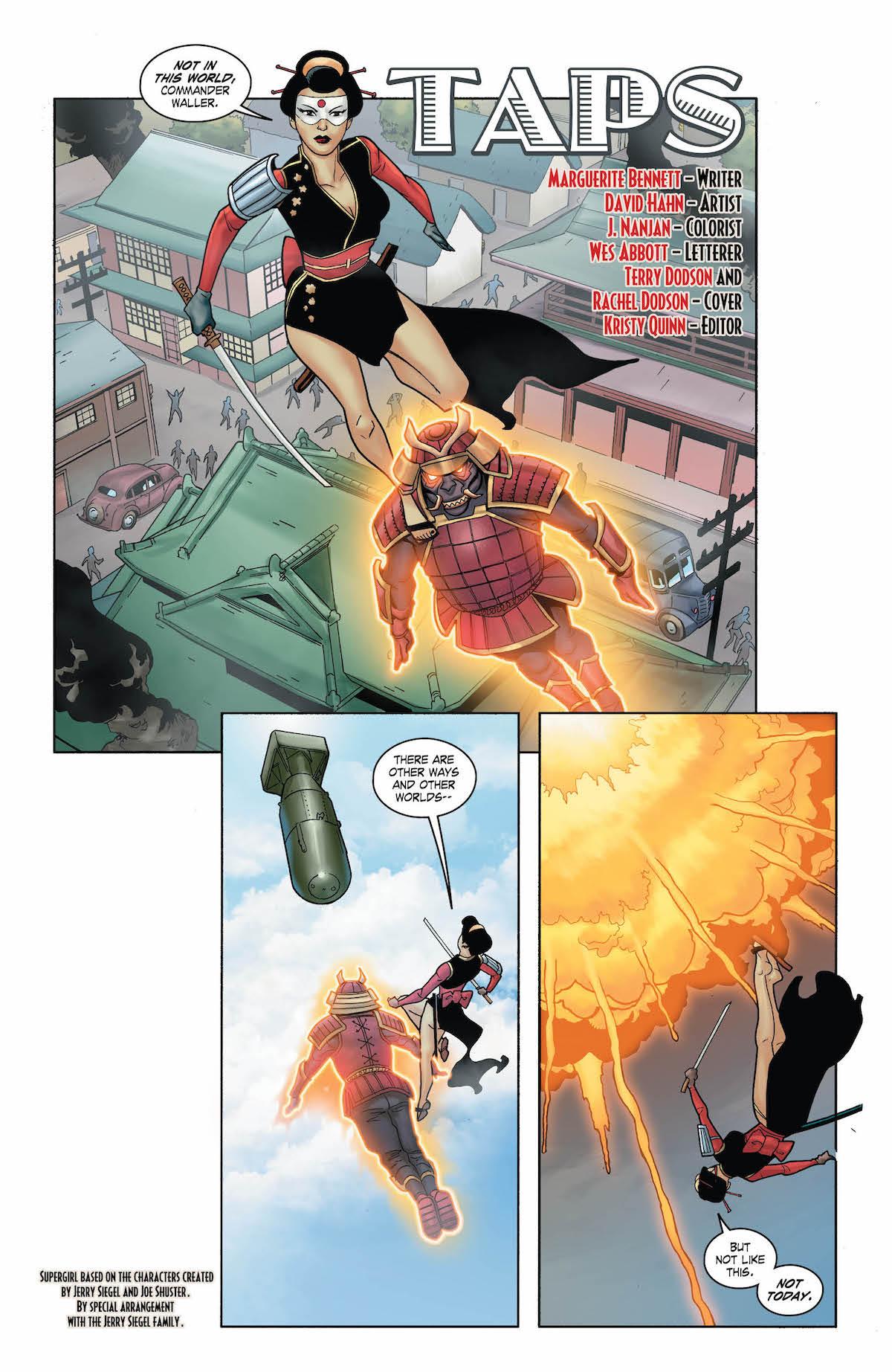 Bombshells United #18 page 4