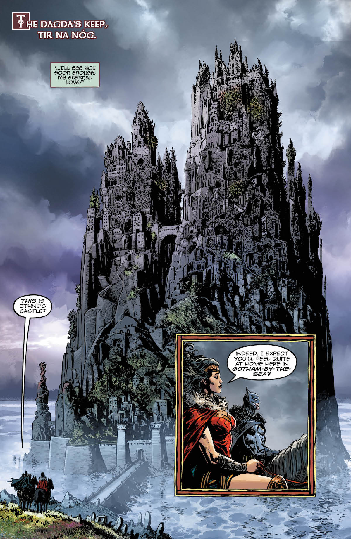 Brave and the Bold: Batman and Wonder Woman #4 interior page