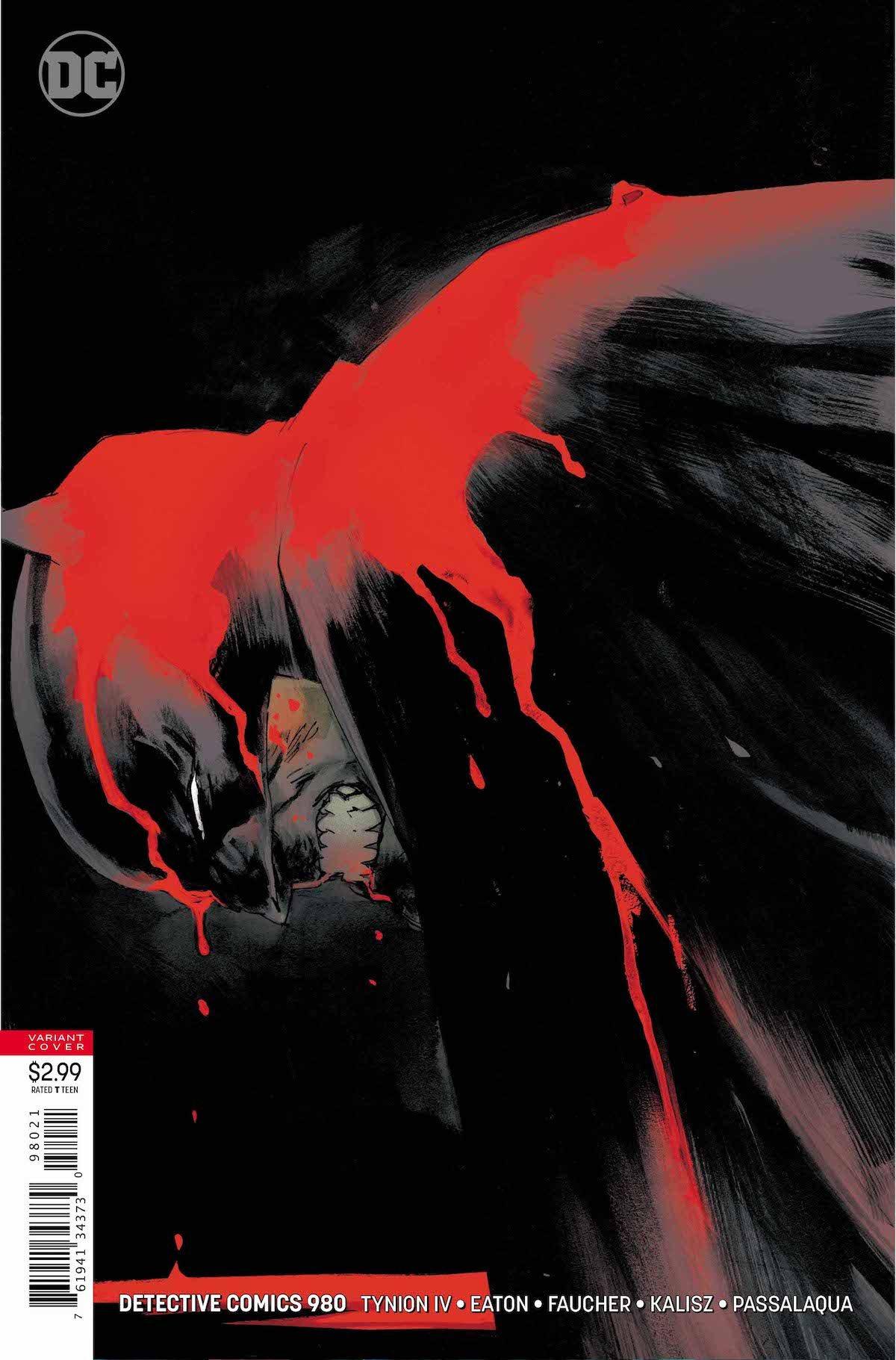 Detective Comics #980 variant cover