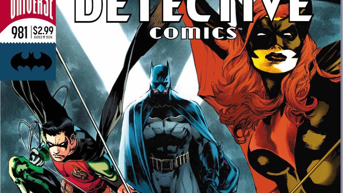 Detective Comics #981 cover
