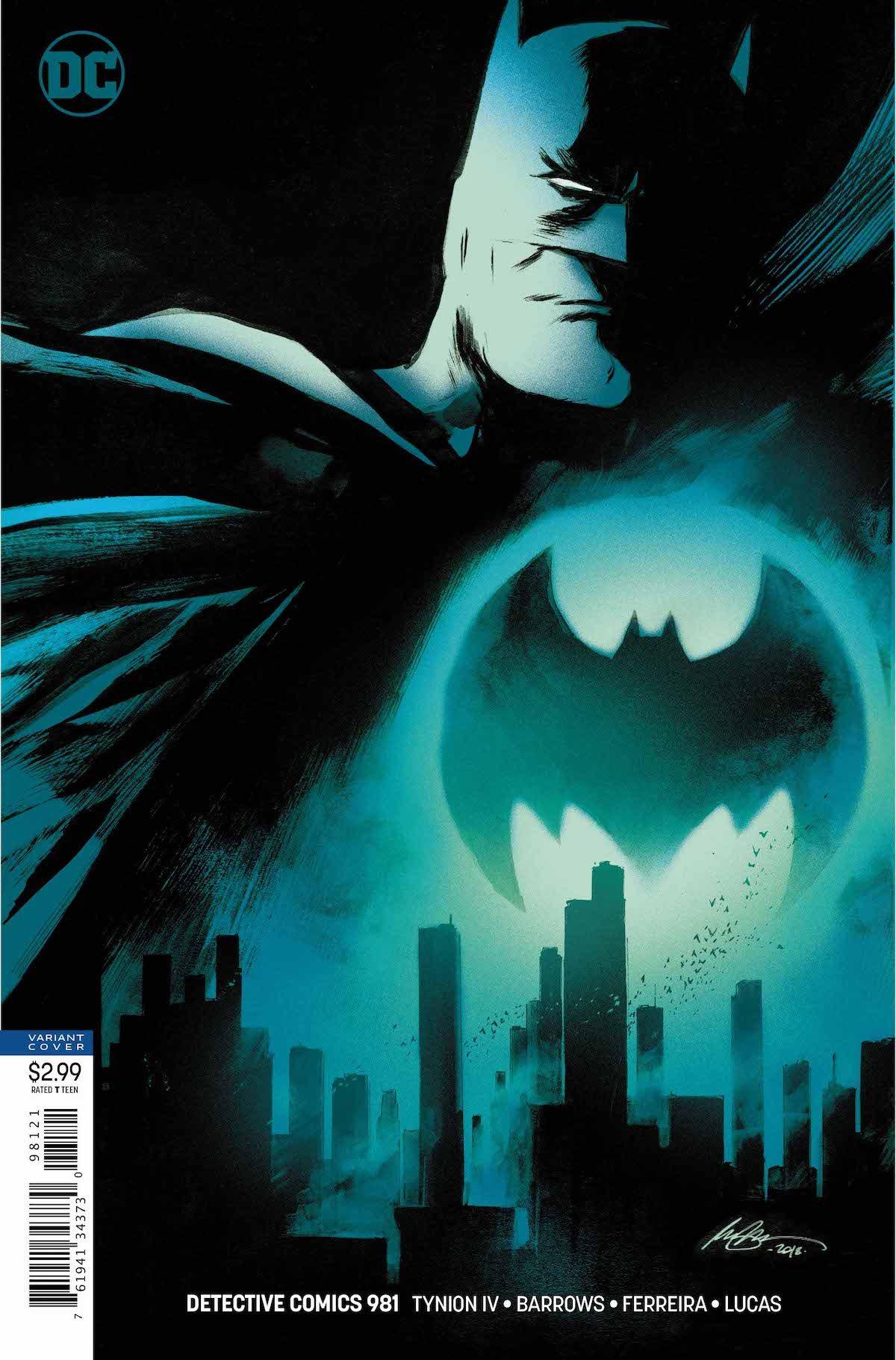 Detective Comics #981 variant cover