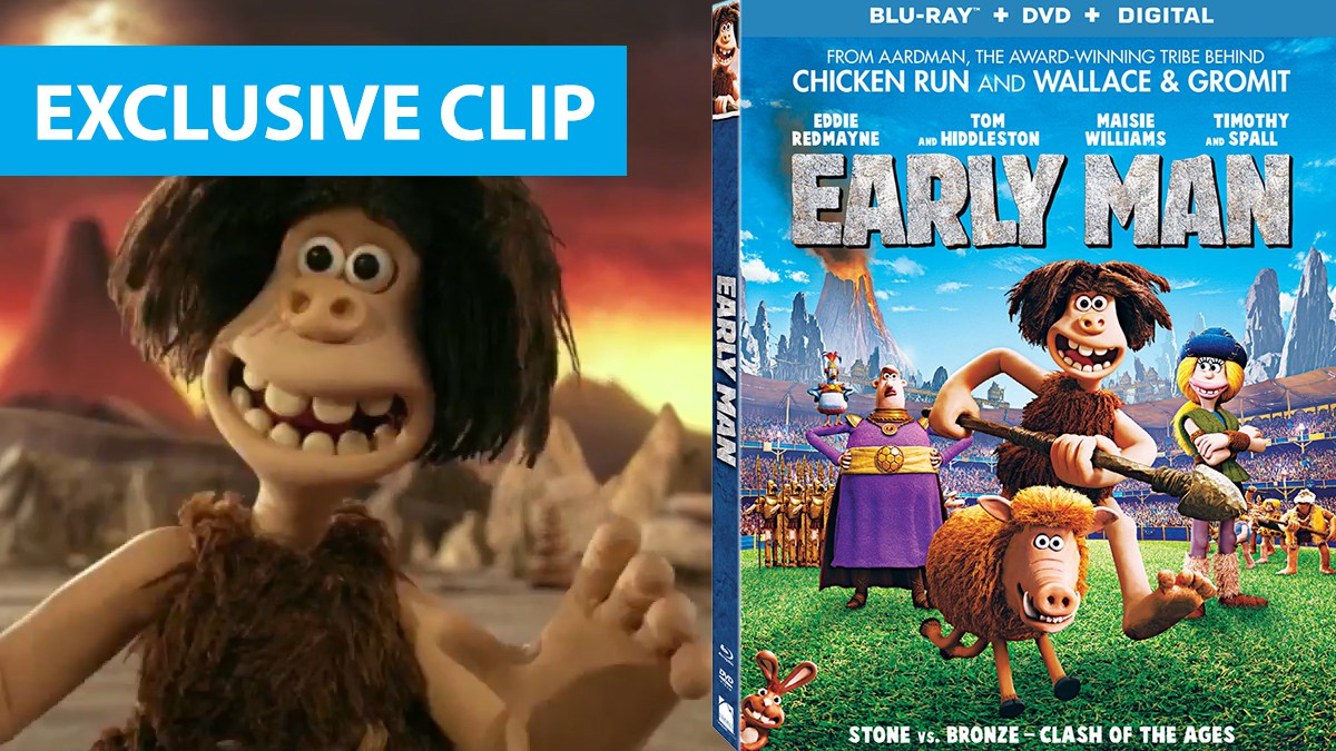Early Man Blu-ray exclusive clip