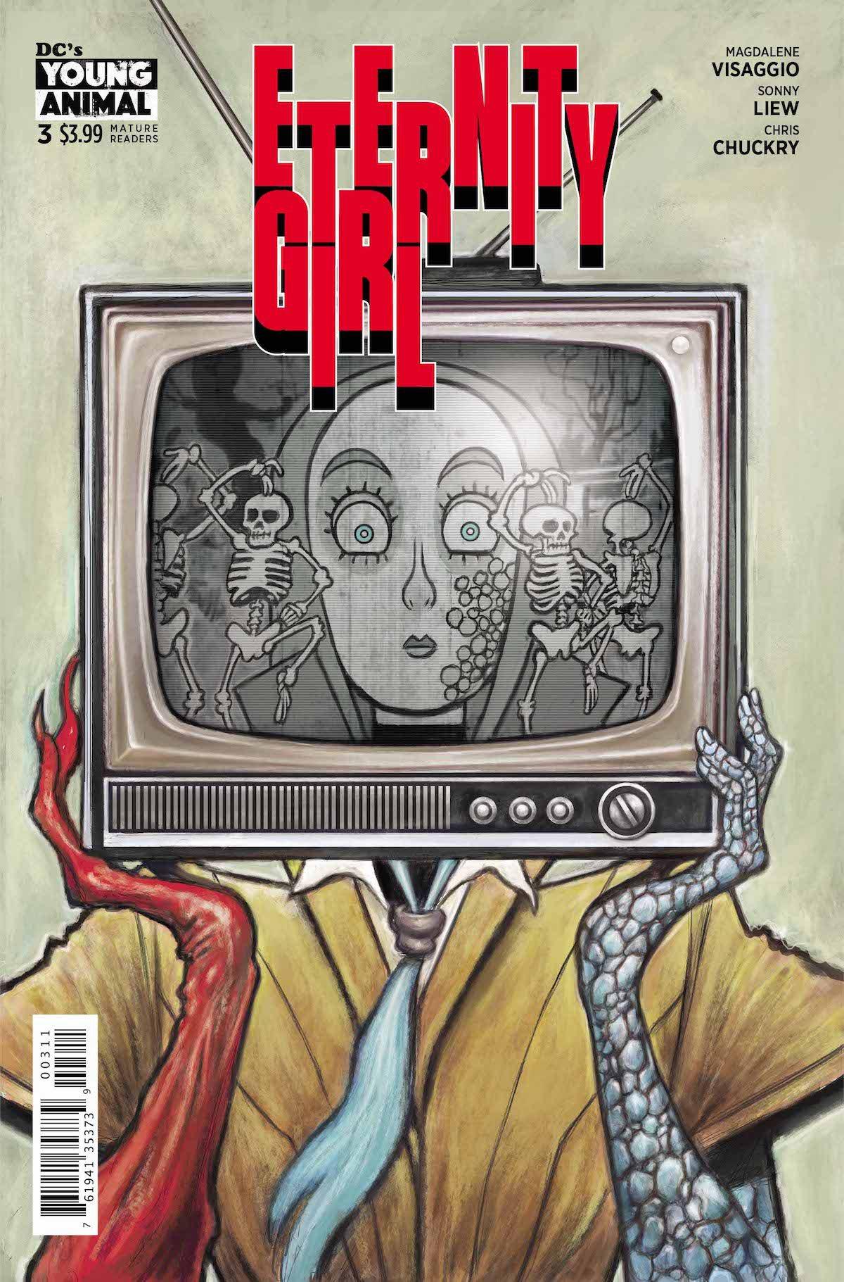 Eternity Girl #3 cover