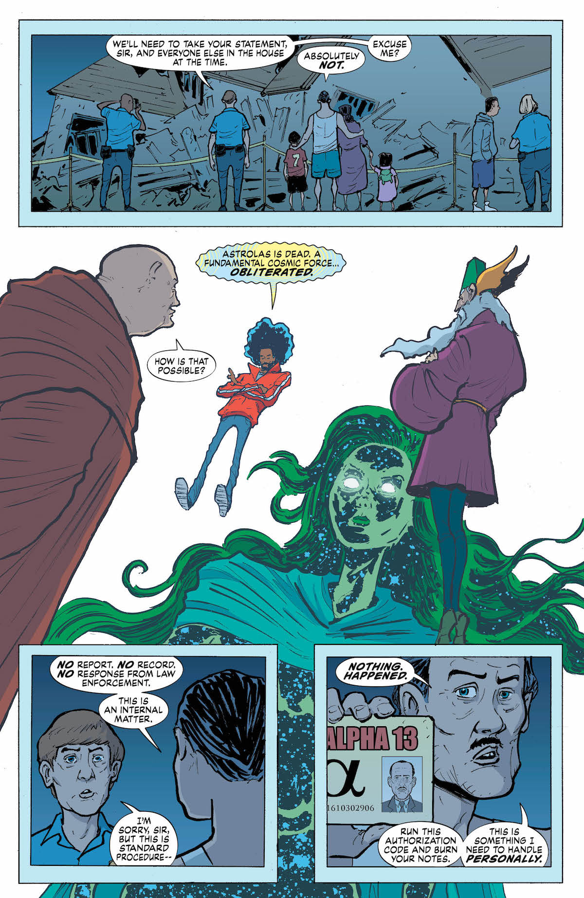 Eternity Girl #3 page 1