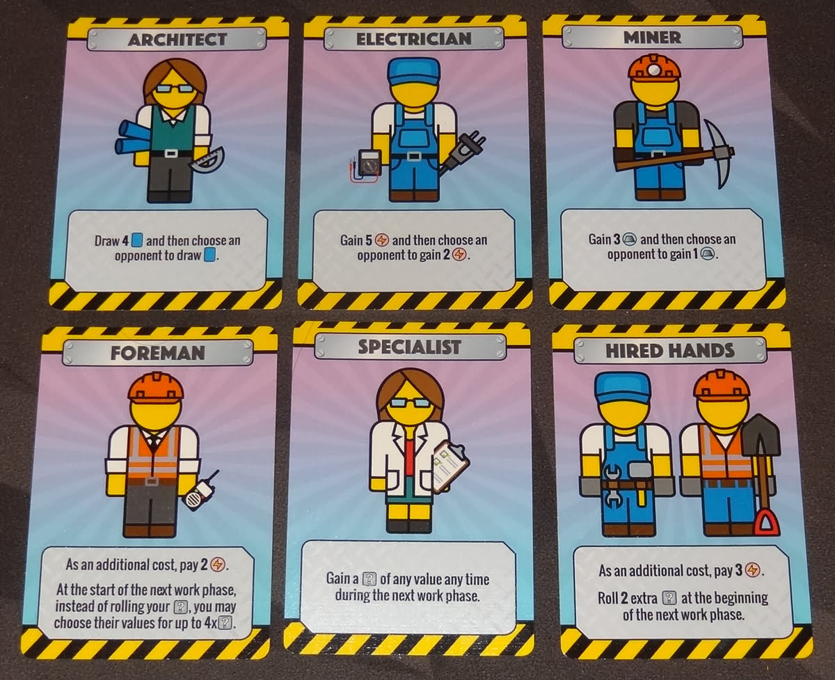 Fantastic Factories contractor cards