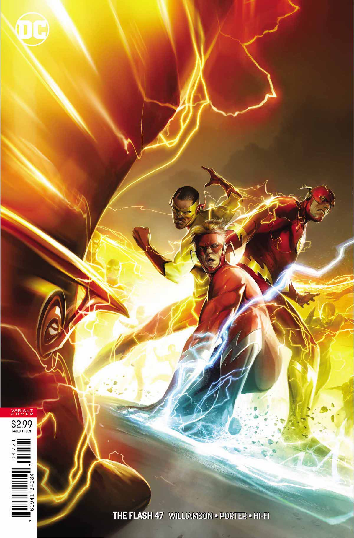 Flash #47 variant cover