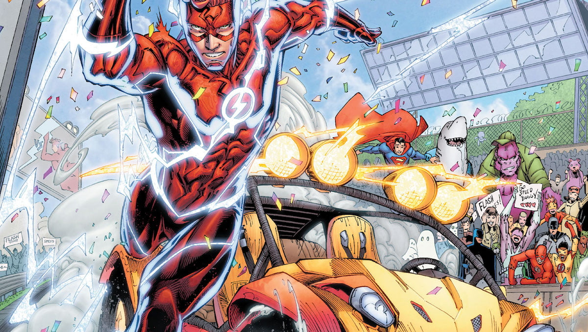 Flash/Speed Buggy Special #1 cover