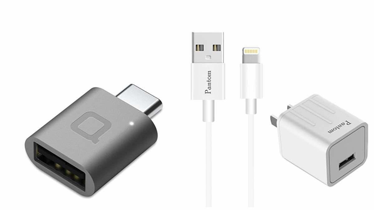 Geek Daily Deals USB C adaptor lightning charger