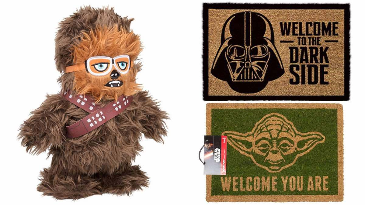 Geek Daily Deals 050418 plush chewbacca star wars doormats