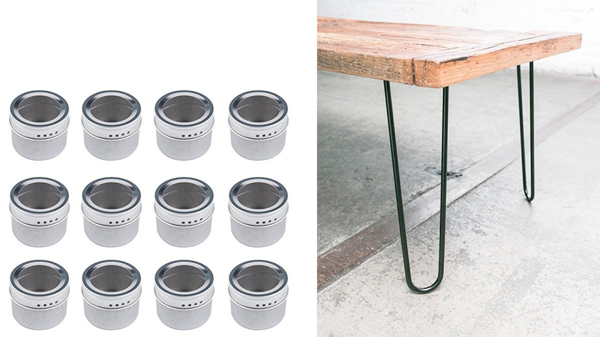 Geek Daily Deals 050918 spice jars table legs
