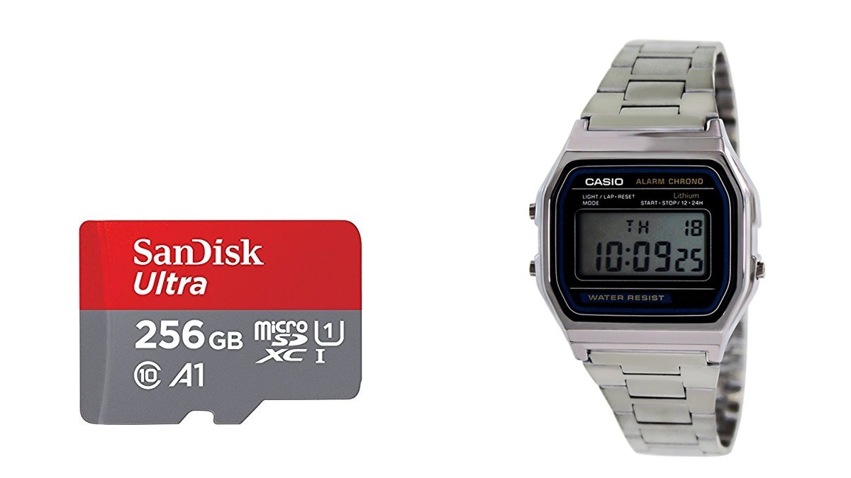 Geek Daily Deals 051518 sandisk memory casio watch
