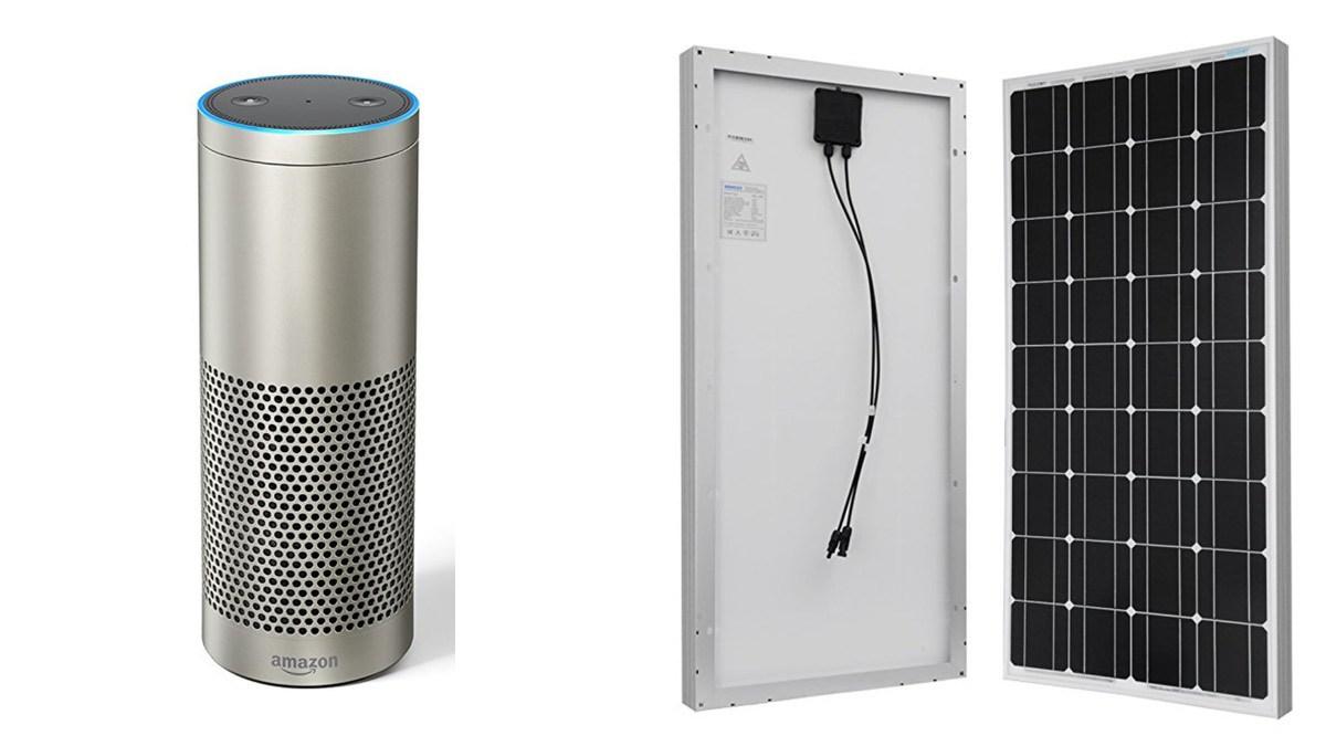 Geek Daily Deals 052218 refurbished echo plus solar panels