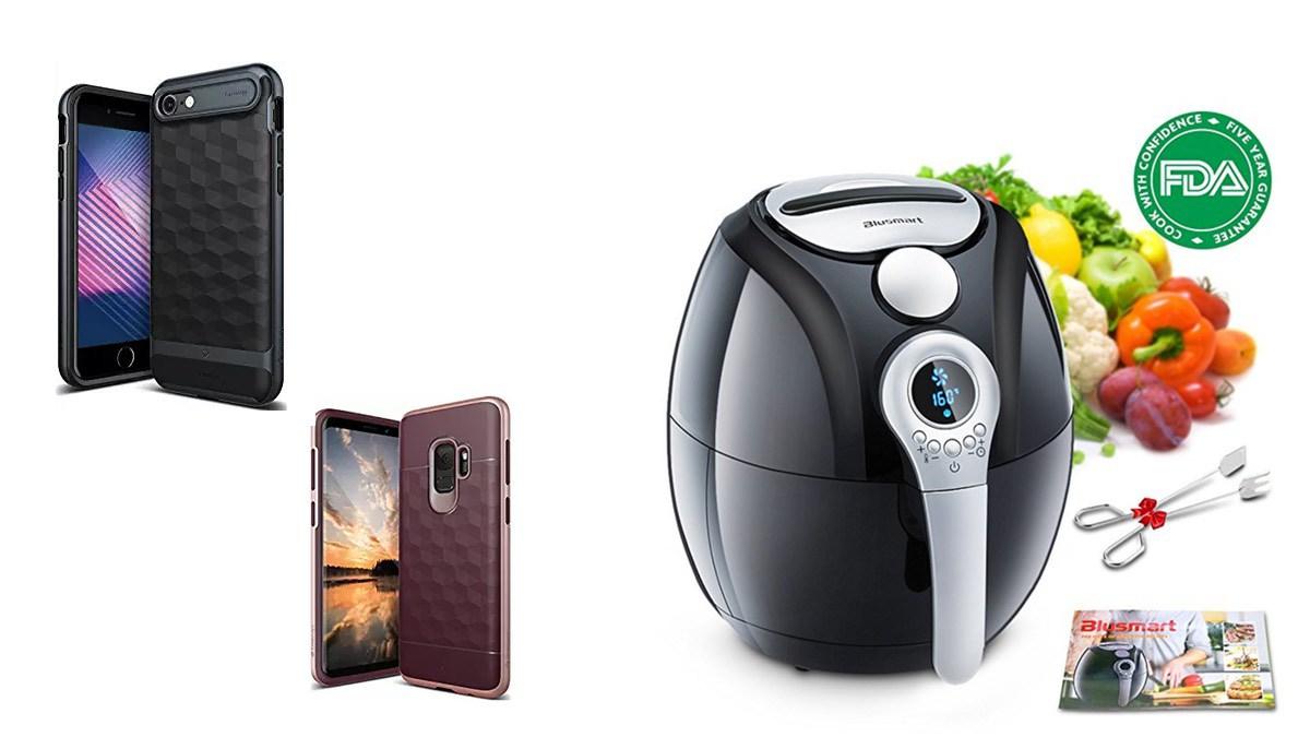 Geek Daily Deals 052418 phone cases air fryer