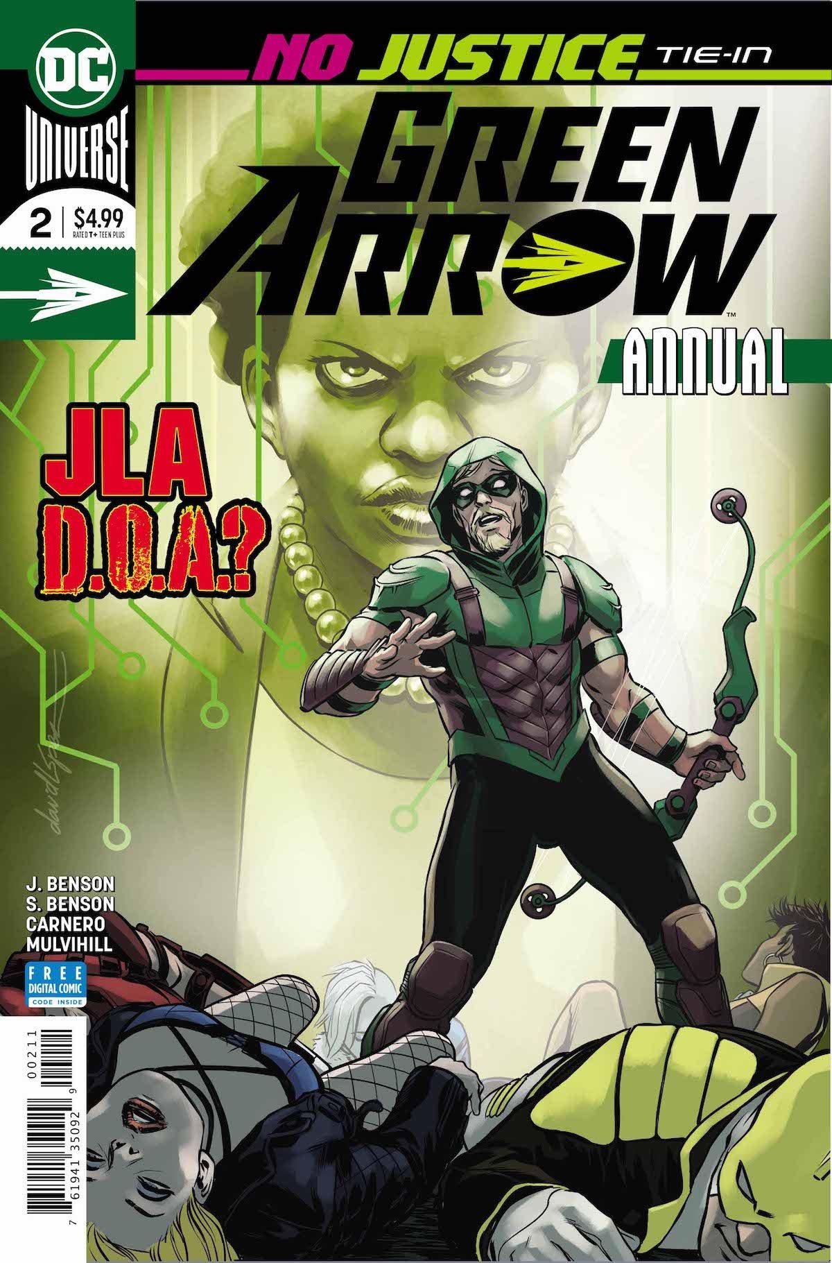 Green Arrow Annual #2 cover