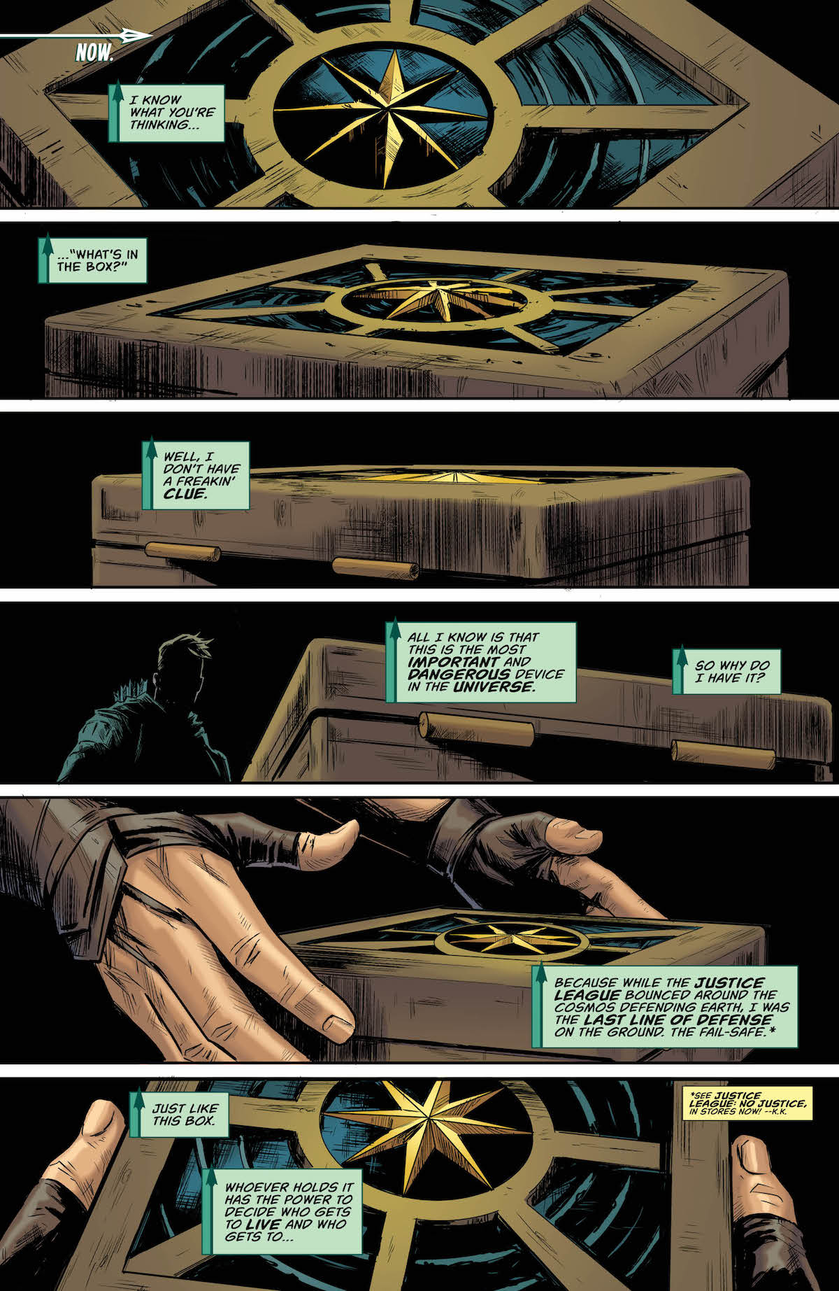 Green Arrow Annual #2 page 1