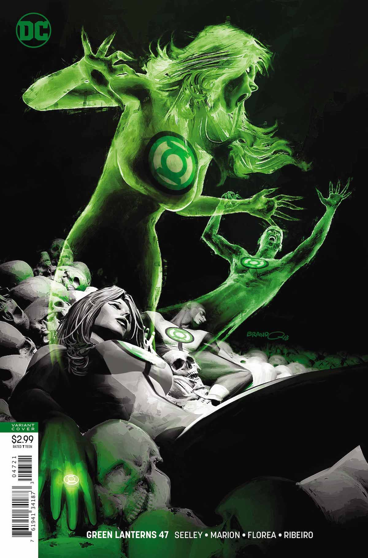 Green Lanterns #47 variant cover