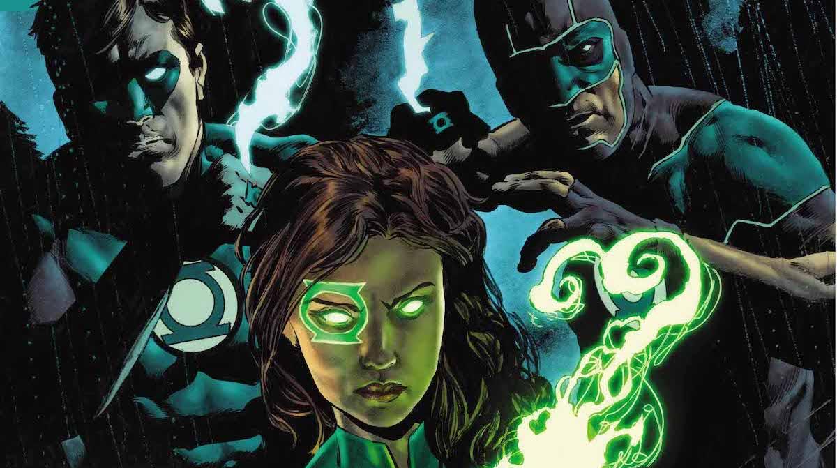 Green Lanterns Annual #1 cover