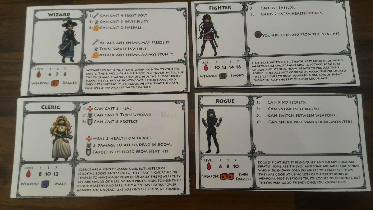 Heroes Treasure Kickstarter characters