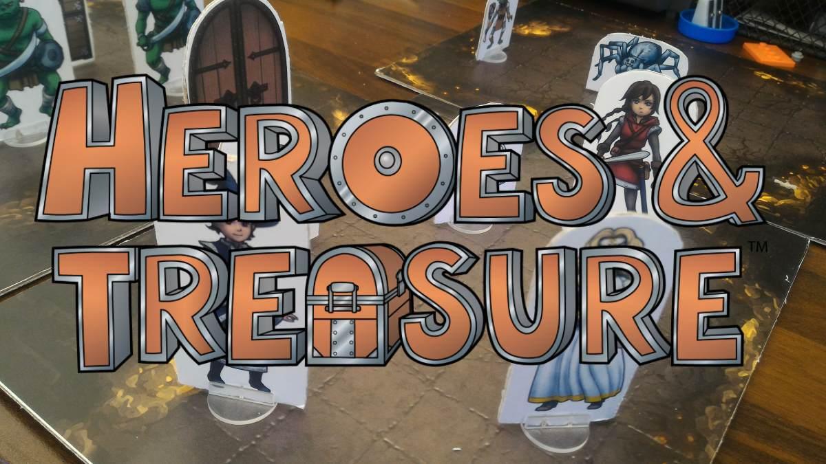 Heroes Treasure Kickstarter