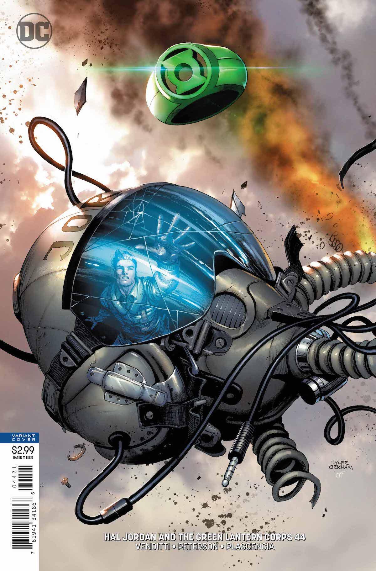 Hal Jordan #44 variant cover