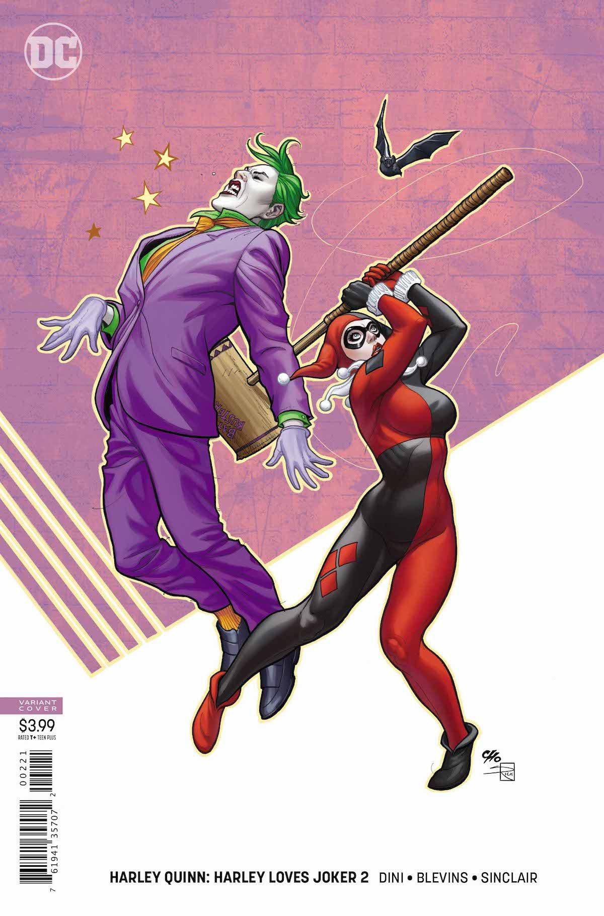 Harley Loves Joker #2 variant cover