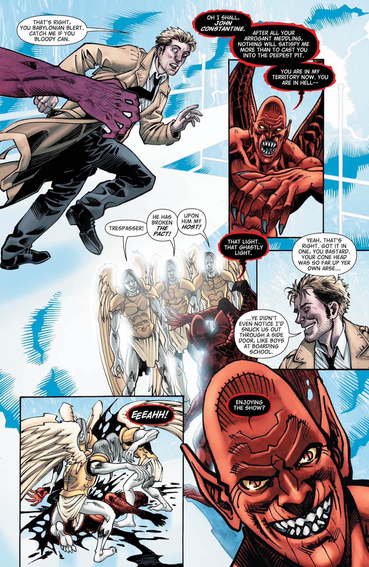 Hellblazer #22 page 1