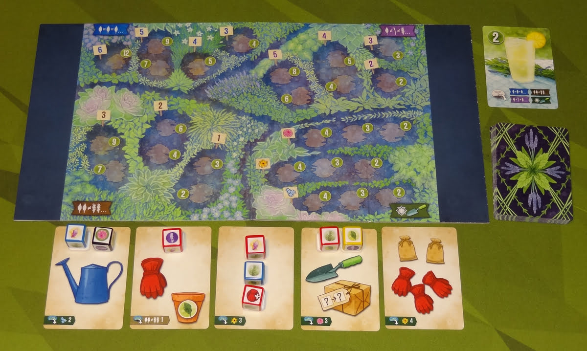 Herbaceous Sprouts 4-player setup