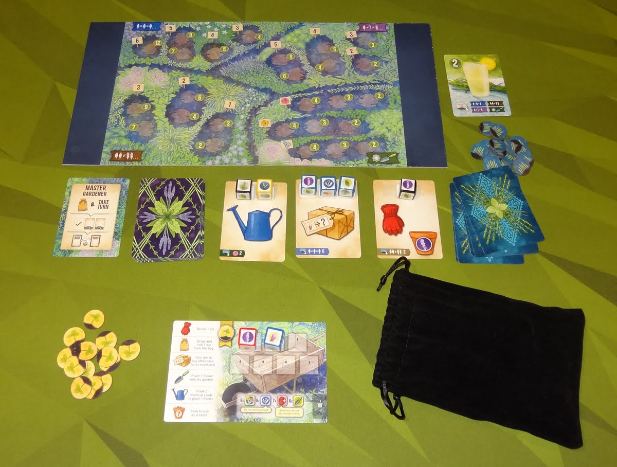 Herbaceous Sprouts solo game