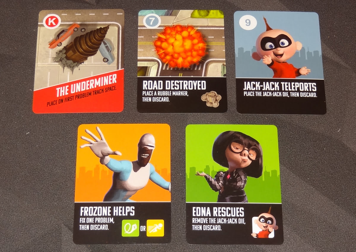 The Incredibles: Save the Day cards