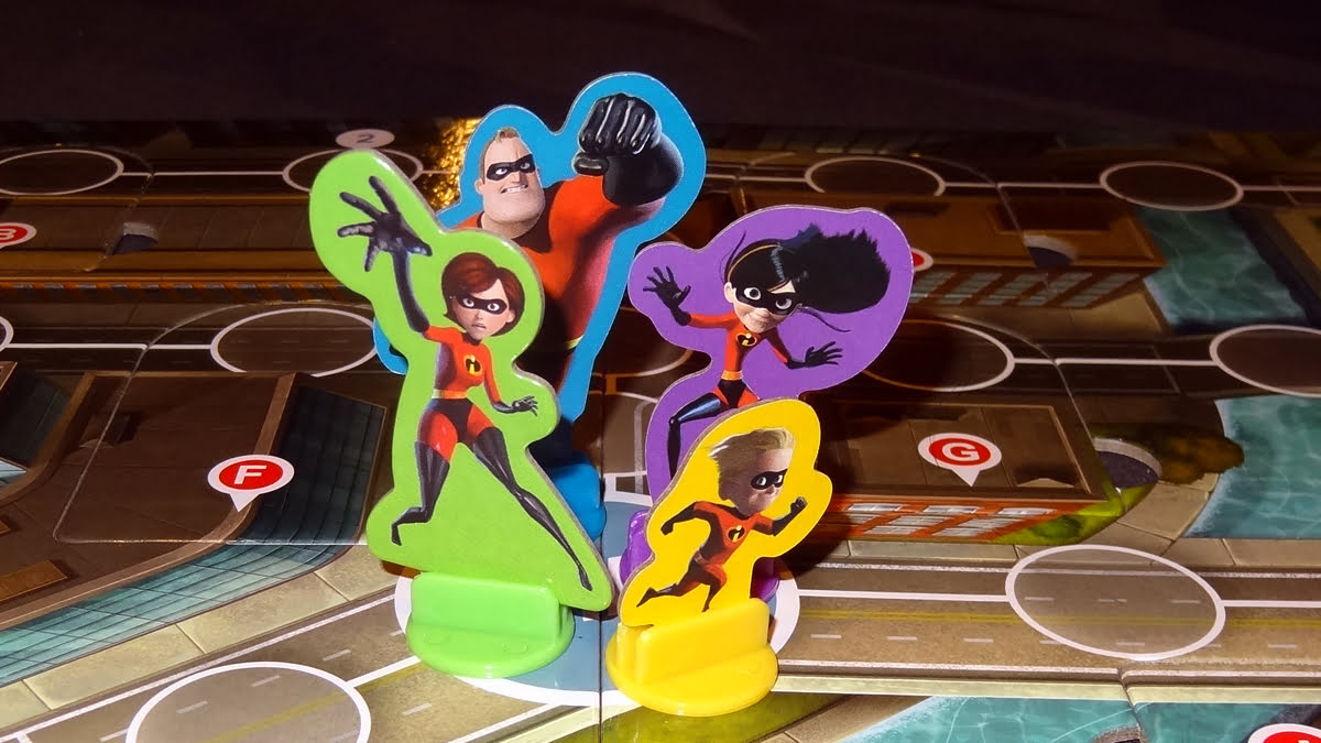 The Incredibles: Save the Day standees