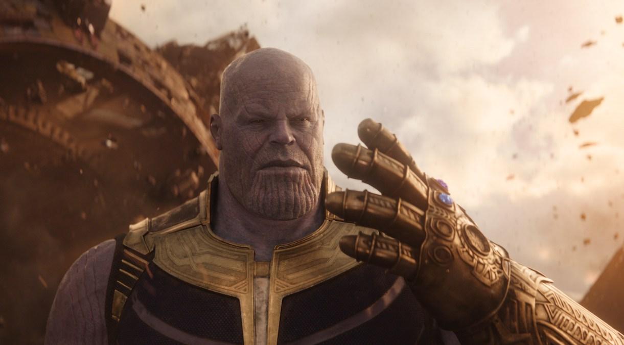 Marvel Studios' AVENGERS: INFINITY WAR..Thanos (Josh Brolin).
