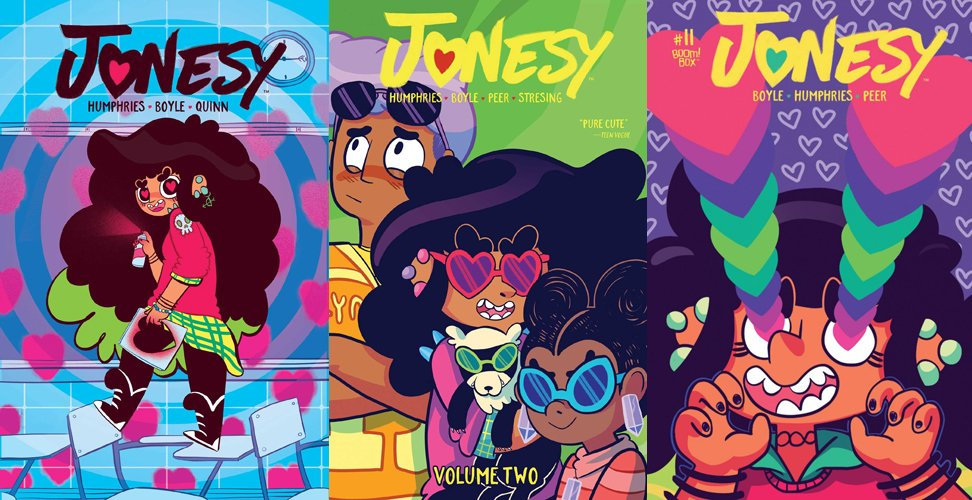 Jonesy volumes 1-3