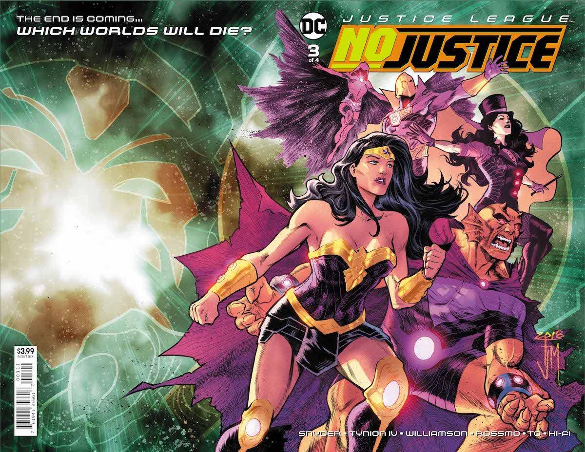 Justice League No Justice #3 cover