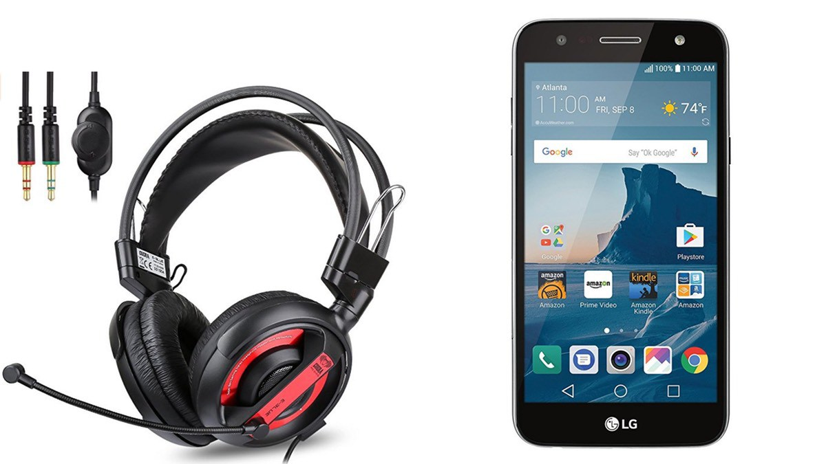 Geek Daily Deals 052818 gaming headphones unlocked android phone