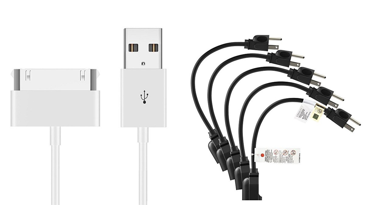 Geek Daily Deals 053018 30-pin apple cable short extension cords