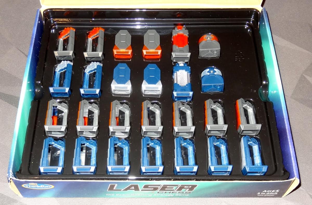 Laser Chess box insert