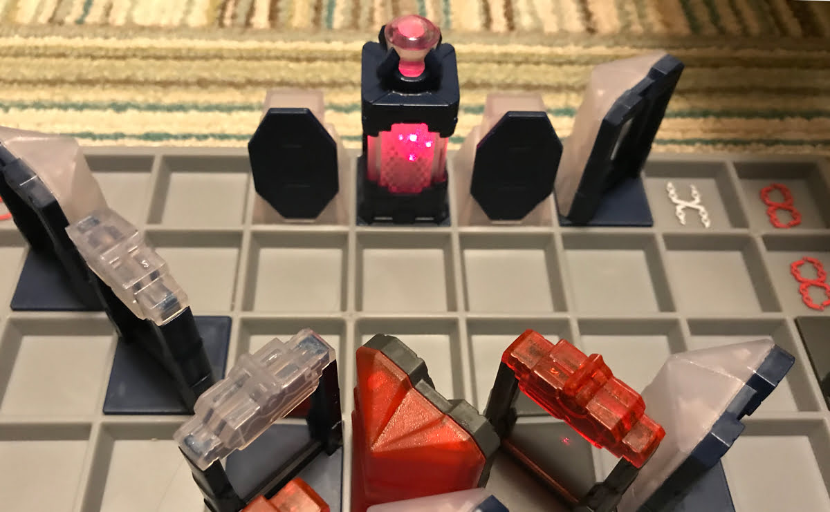 Laser Chess checkmate