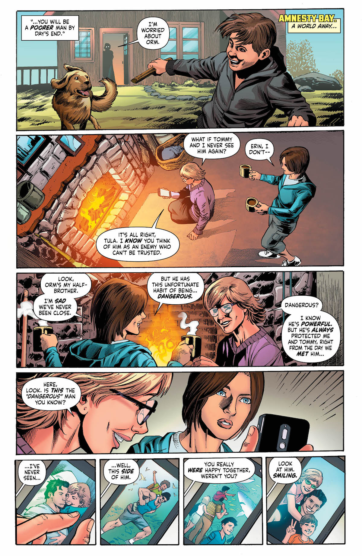 Mera Queen of Atlantis #4 page 4