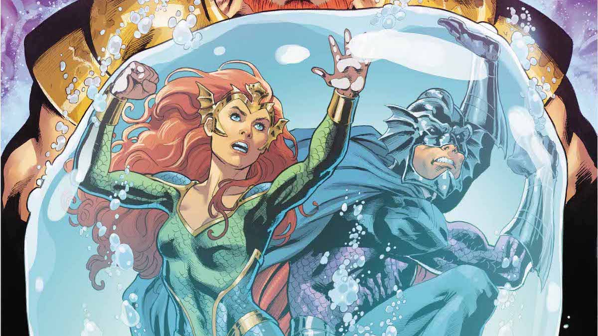 Mera Queen of Atlantis #4 cover