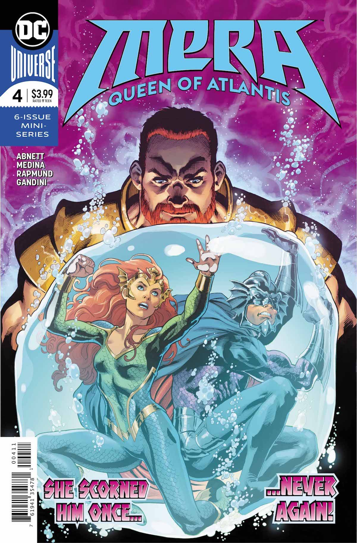 Mera Queen of Atlantis #4 cover