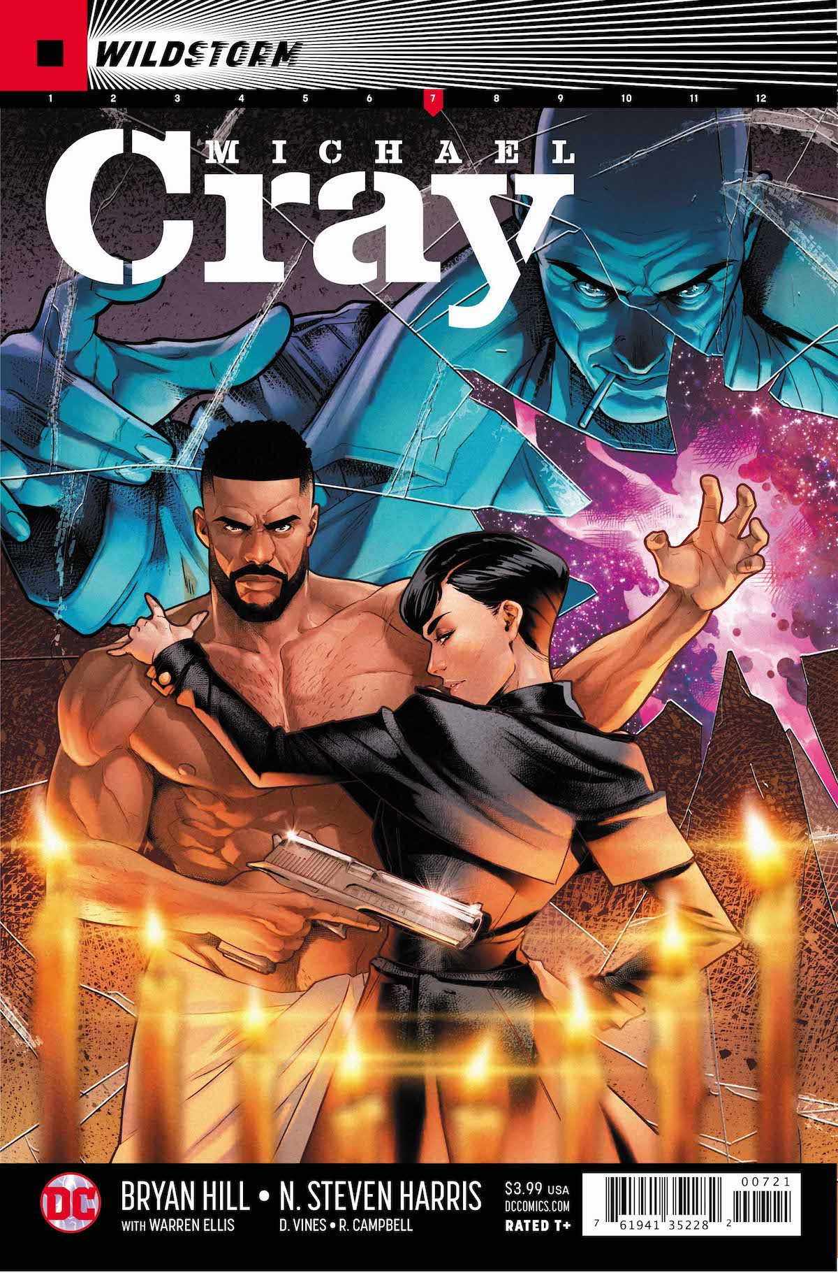 Michael Cray #7 variant cover