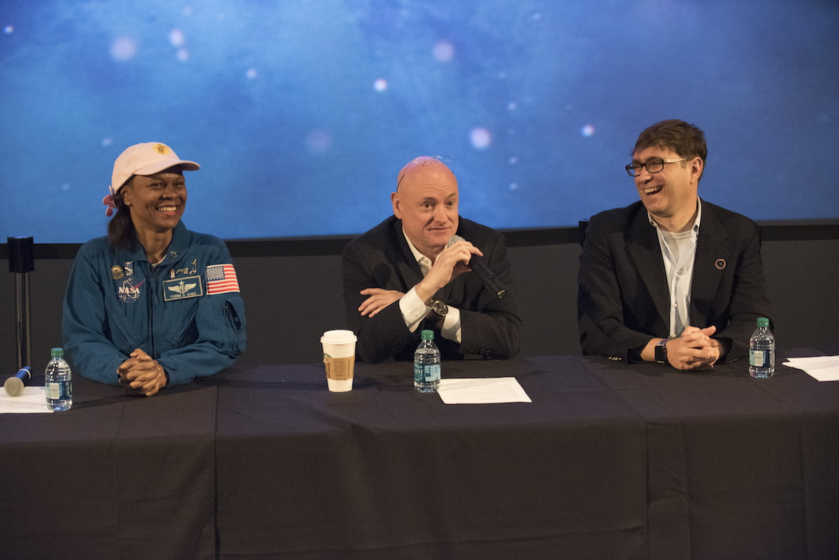 Mission Force One Panel discussion with DR. YVONNE D. CAGLE, SCOTT KELLY, and SASCHA PALADINO