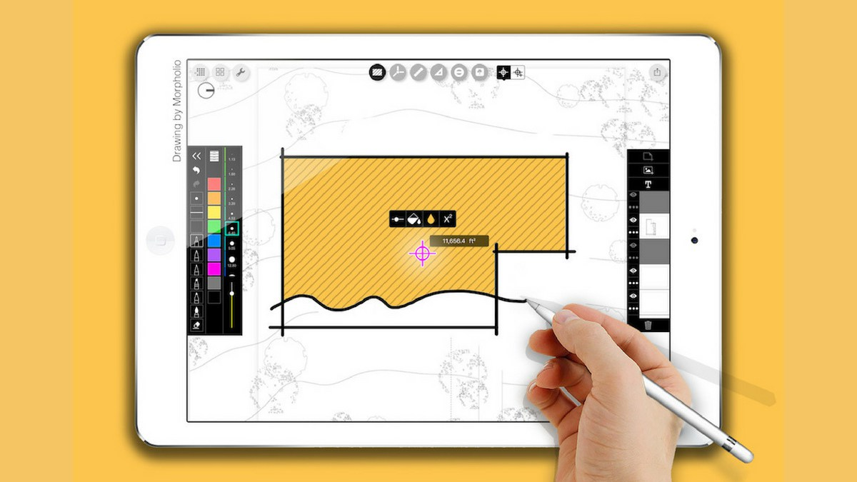 """New """"Smart Fill"""" feature for the Morpholio Trace app is super smart."""